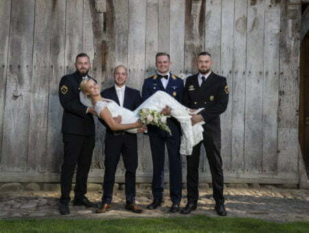 getragene Braut